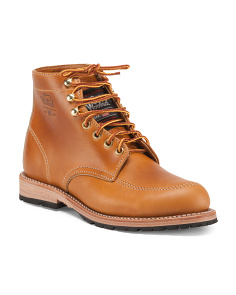 Comfort Leather Work Boots