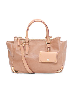 3pc Leather Daily Satchel