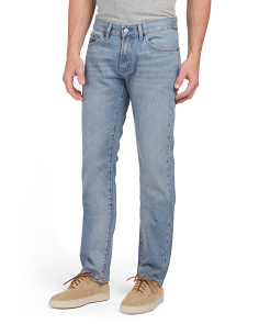 Slim Straight Denim Jeans