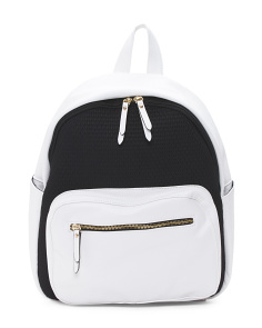 Neoprene Embossed Backpack