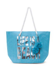 Life Is A Beach Tote