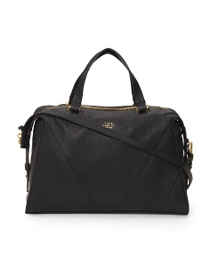 Blaza Leather Satchel