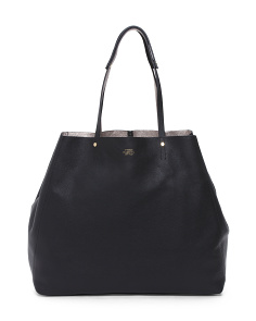 Fitzi Leather Tote