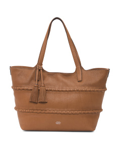 Edena Leather Tote