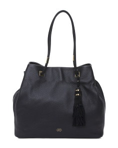Cava Leather Tote