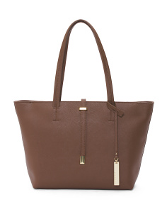 Leila Leather Tote
