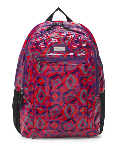 Nylon Tic Tac Toe Backpack