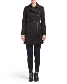 Asymmetrical Zip Coat