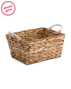 Havana Natural Rectangle Basket