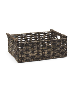 Extra Large Woven Natural Storage Bin