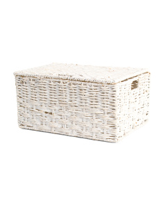 Medium Maize Weave Storage Basket
