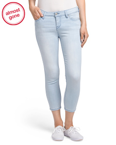 Juniors Mid Rise Skinny Jeans