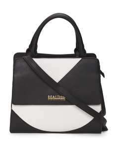 Right Angles Colorblock Satchel
