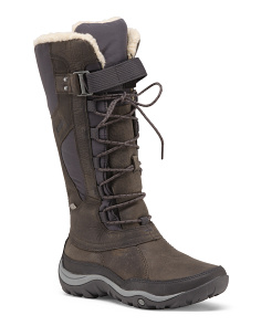 Waterproof Cold Weather Leather Boots