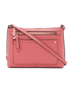 Ilianna Leather Crossbody
