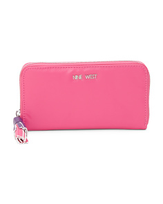 Tis A Tassel Zip Around Wallet