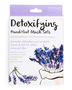 Made In Korea Detoxifying Hand & Foot Masks