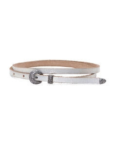 Women's Western Leather Belt