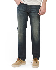 Made In USA Safado Straight Denim Jeans