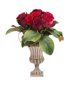 Faux Rose Arrangment