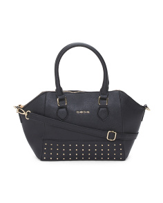 Brooklyn Studded Satchel