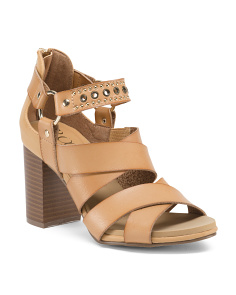 Peep Toe High Heel Sandals