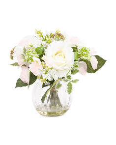 Mixed Faux Floral Arrangment