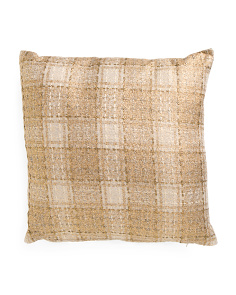 20x20 Plaid Pillow