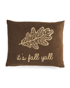 14x18 Velvet Its Fall Yall Pillow