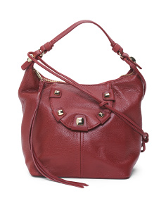 Penelope Small Leather Hobo
