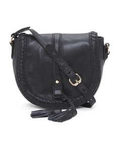 Bianca Leather Saddle Bag