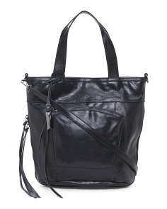 Reina Leather Tote