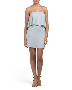 Juniors Made In USA Popover Dress