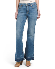 Made In USA Tailorless Flared Jeans