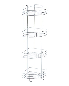 Wilson 4-tier Corner Bath Tower