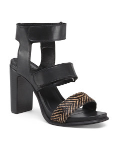 Made In Brazil Tribal Strap Leather Sandals