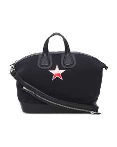 Made In Italy Nightingale With Star Satchel