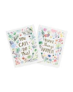 Set Of 2 You Can Journals