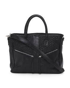 Liz Leather Satchel