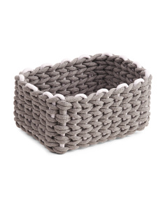 Medium Chunky Cotton Rope Tote