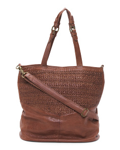 Billie Leather Tote