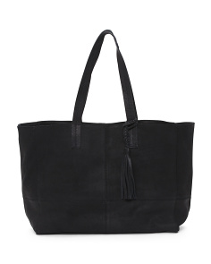 Marie Leather Tote