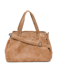 Velda Leather Satchel