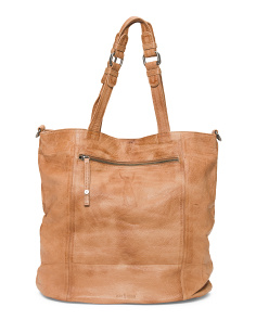 Leather Billie Tote