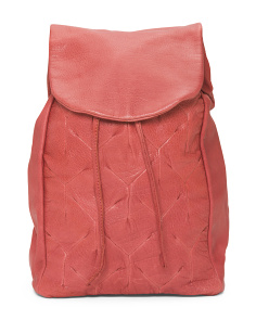 Yvonne Leather Backpack