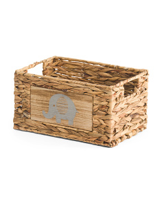 Small Elle Natural Storage Basket