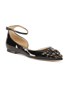 Made In Italy Patent Leather Flats