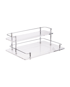 2-tier Shelf Tray