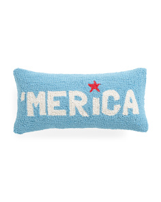 9x18 Merica Hook Pillow