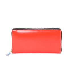 Made In Spain Leather Zip Wallet